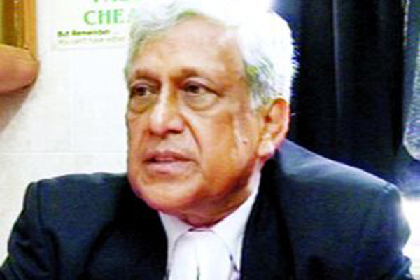 Dr. M. Zahir, Senior Advocate, Supreme Court of Bangladesh