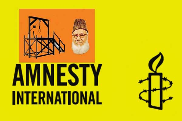 Nizami execution will not deliver justice: Amnesty