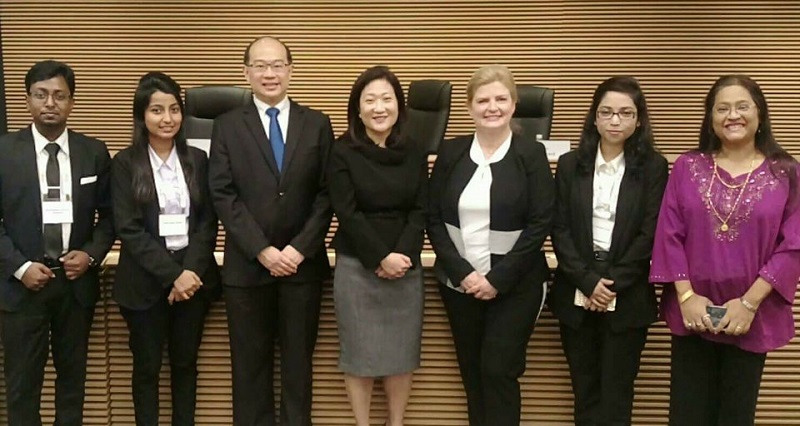 EWU Moot Team Excels in Asia-Pacific