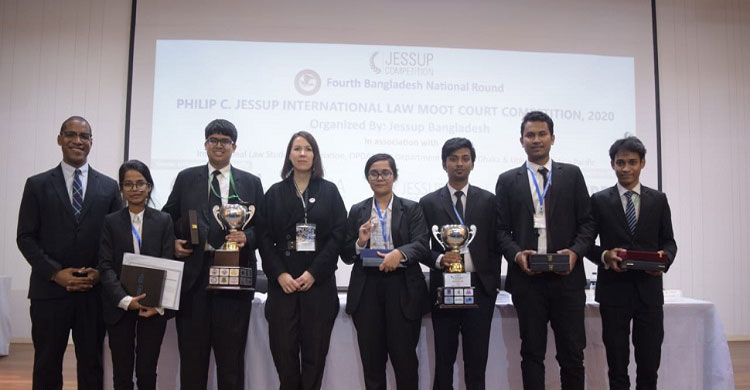 4th BD round of Jessup Moot Court Champion DU