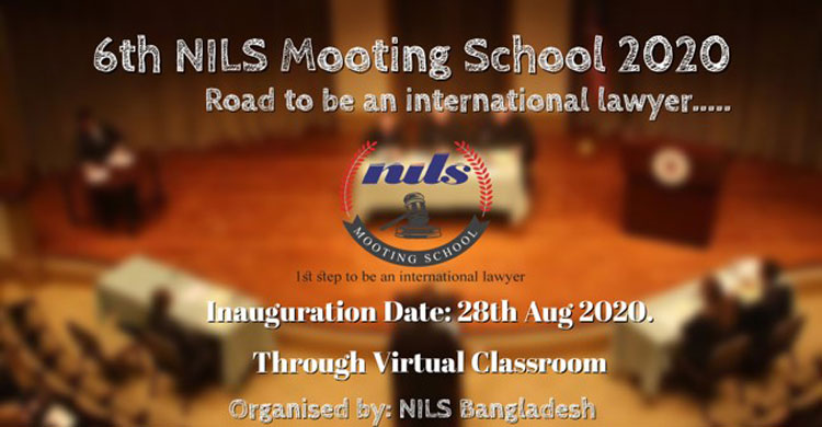 Grand Inaugural Ceremony of 6th NILS Mooting School held on online
