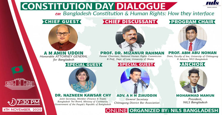 NILS Bangladesh organized 'Constitution Day Dialogue'