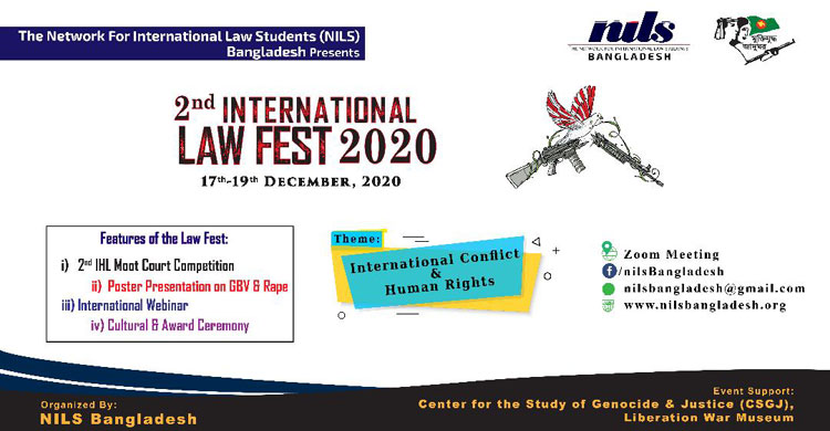 NILS BD presents 2nd International Law Fest launches its registration