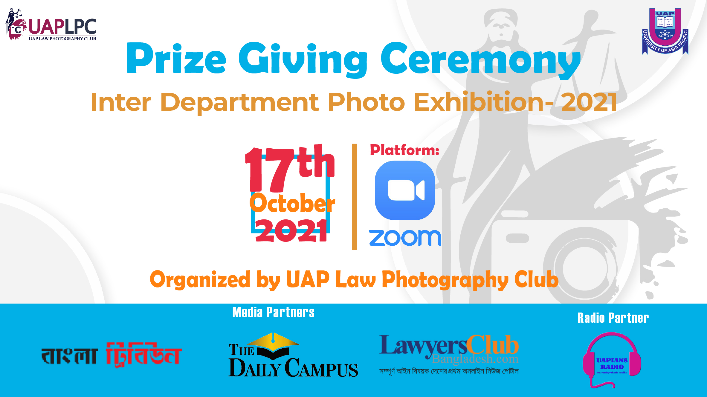 UAP Law Photography Club Holds Prize Giving Ceremony