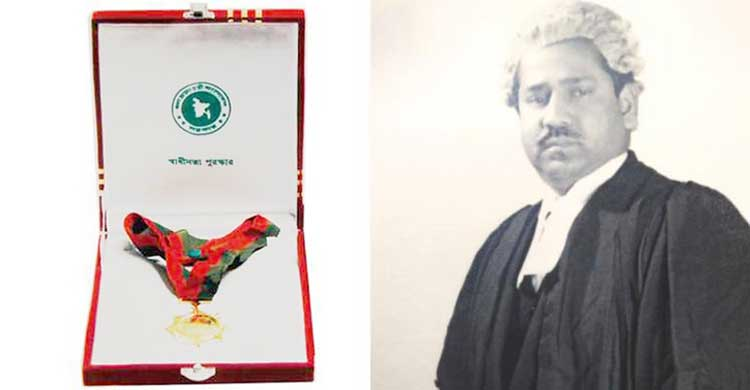 স্বাধীনতা পুরস্কার পাচ্ছেন প্রয়াত ব্যারিস্টার শওকত আলী খান