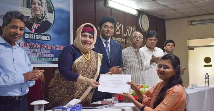 চট্টগ্রামে এসসিএলএস -এর আয়োজনে ল' লেকচার অনুষ্ঠিত