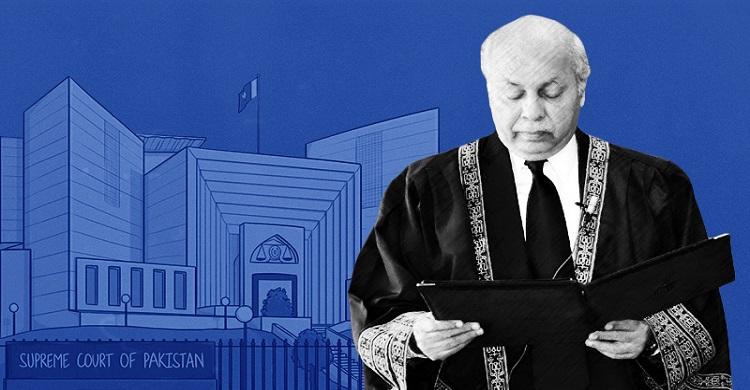 শপথ নিলেন পাকিস্তানের ২৭তম প্রধান বিচারপতি