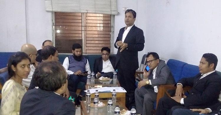 'চুয়াডাঙ্গা জেলা আইনজীবী সমিতি, ঢাকা' সংগঠনের আত্মপ্রকাশ