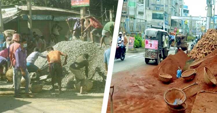 যত্রতত্র নির্মাণ সামগ্রী ফেলে রাখলে এক বছরের কারাদণ্ড, লাখ টাকা জরিমানা